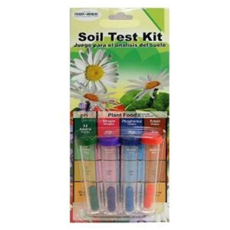 ph soil test kit home depot garden