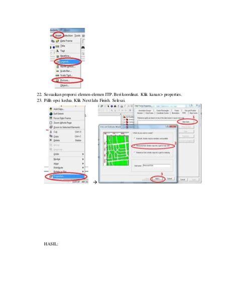 laporan layout peta laporan praktikum ti semester 1 digitasi peta dg arcgis