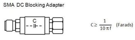 capacitor value to block dc how should a dc blocking capacitor be inserted between the 42941a probe and a dut when a live dc