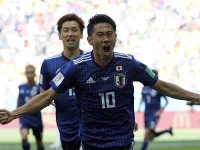 japan vs colombia world cup 2018 fifa world cup 2018 japan beat 10 colombia 2 1