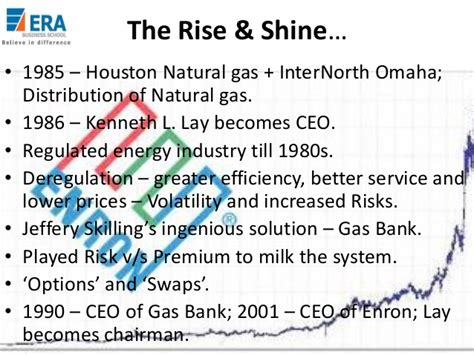 And Gas Mba Houston by The Collapse De Enron Collapse Of Enron