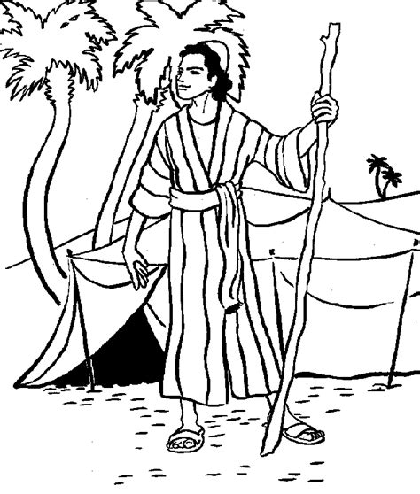 Coloring Pages And Joseph Free Coloring Pages Of Joseph Sold Into Slavery by Coloring Pages And Joseph