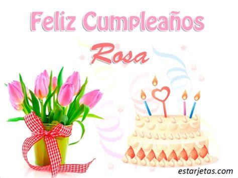 imagenes feliz cumpleaños rosa feliz cumplea 241 os rosa im 225 genes de estarjetas com