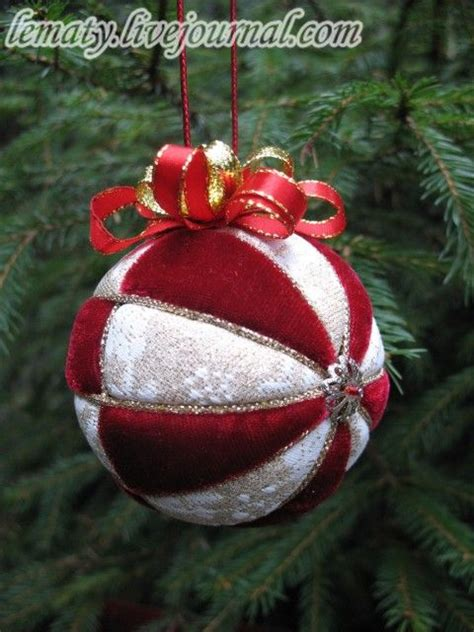 christmas ornament diy styrofoam no english but great