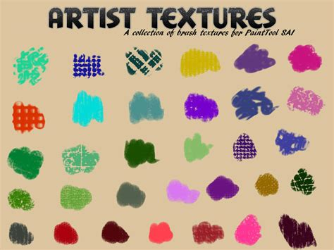 paint tool sai texture textures for painttool sai by aheria on deviantart