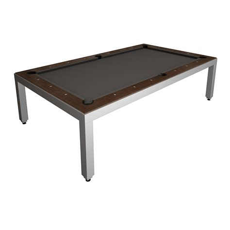 Fusion Table by Aluminum Powder Coated Fusion Table Wood Top Ebay