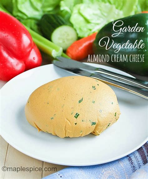 garden vegetable cheese maple spice garden vegetable almond cheese