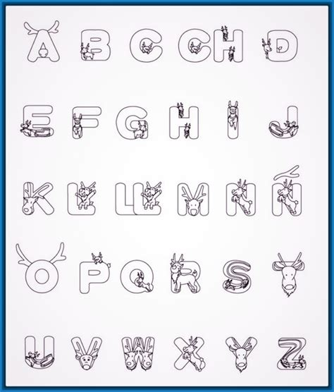 da clic para ver en grande e imprimir el abecedario para colorear amazing el abecedario para