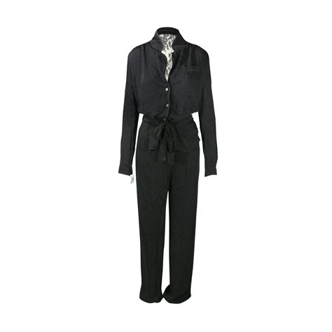 Jumpsuit Chanel Lq second paul joe jumpsuit with see through lace back the fifth collection