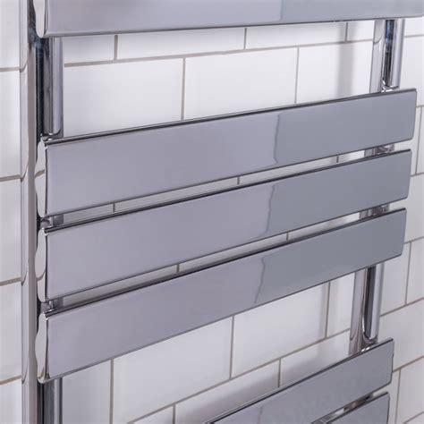 contemporary heated towel rails for bathrooms designer flat panel heated bathroom towel rail radiator