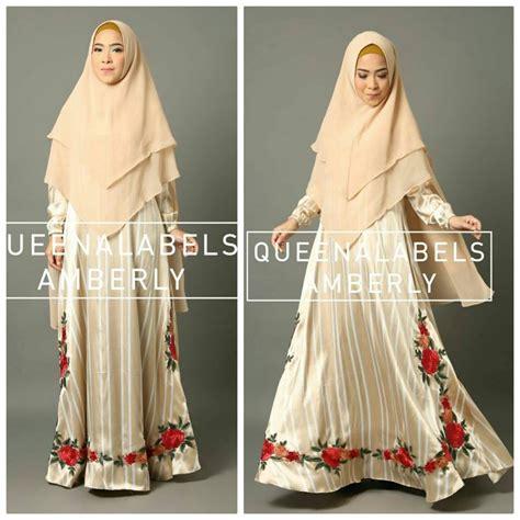 Gamis Anak Busana Muslimah Anak Stripe Perempuan Kerudung Cantik Mo grosir baju muslim murah jual busana muslim