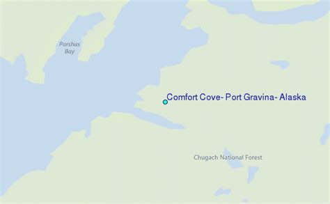 comfort cove comfort cove port gravina alaska tide station location guide