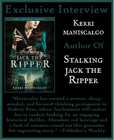 libro stalking jack the ripper martina boone s blog kerri maniscalco author of stalking jack the ripper on having your work