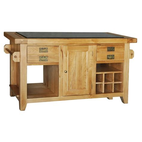 oak kitchen island units chester oak range kitchen island unit
