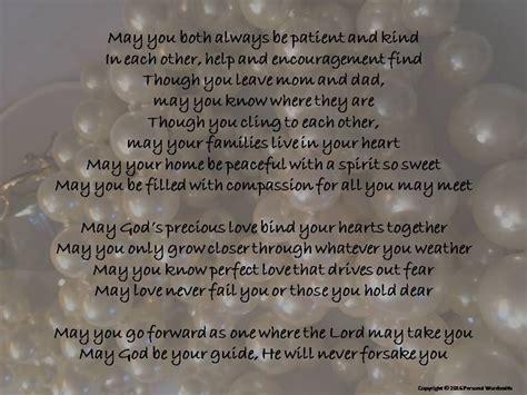 Wedding Blessing Speech by Wedding Blessing Digital Print Of Poem