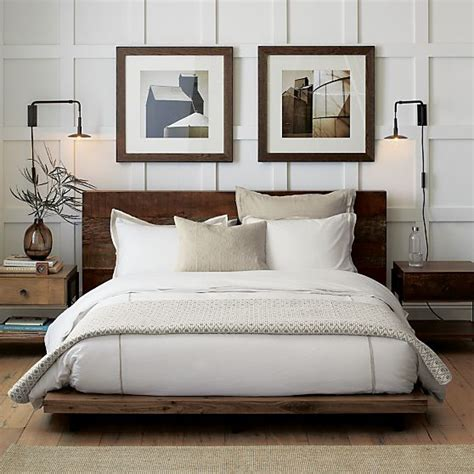Beds Without Footboards by Atwood Bed Without Bookcase Footboard In Beds Headboards
