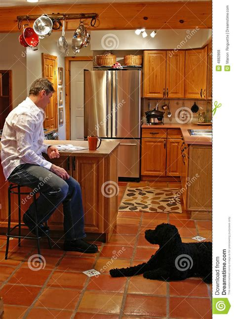 Kitchen Island Royalty Free Stock Photos   Image: 4882868