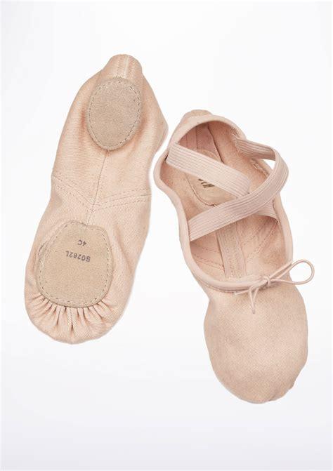 bloch zenith split sole ballet shoe pink move dancewear 174