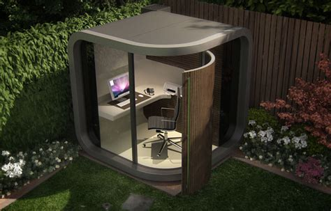backyard office pod the officepod small footprint garden office the