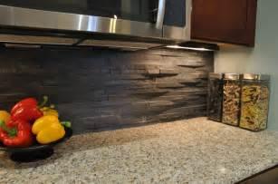 rustic kitchen backsplash tile island stone rustic himachal black backsplash modern kitchen other metro by island stone