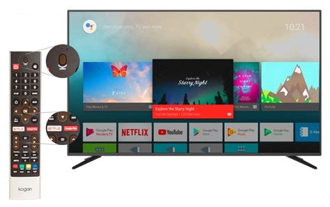kogan launches smarter tvs powered  android tv eftm