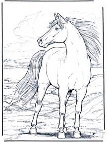 Galerry coloring pages printable horse