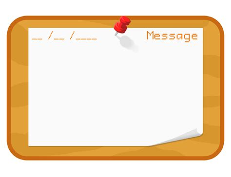 Bulletin Board Template By Red Anteater On Deviantart Board Template