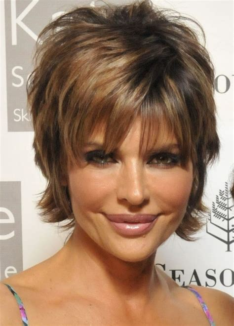 lisa rinna dark hair or blonde 204 best images about short hairstyles women over 50 on