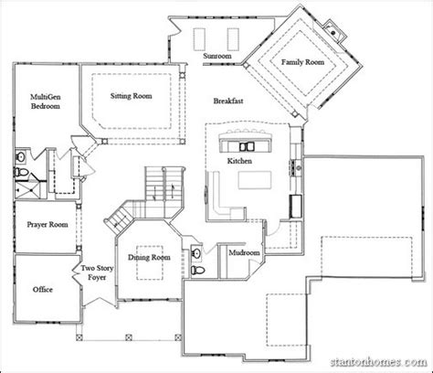 multigenerational floor plans new home building and design home building tips