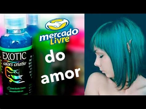 exotic colors como pintar o cabelo exotic colors verde marine youtube