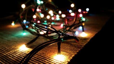 imagenes en hd navidad fondo de pantalla de luces navidad leds cable enredo