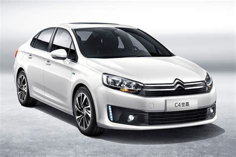 Citroen C4 by Citro 235 N Launches New C4 Sedan In China Carscoops