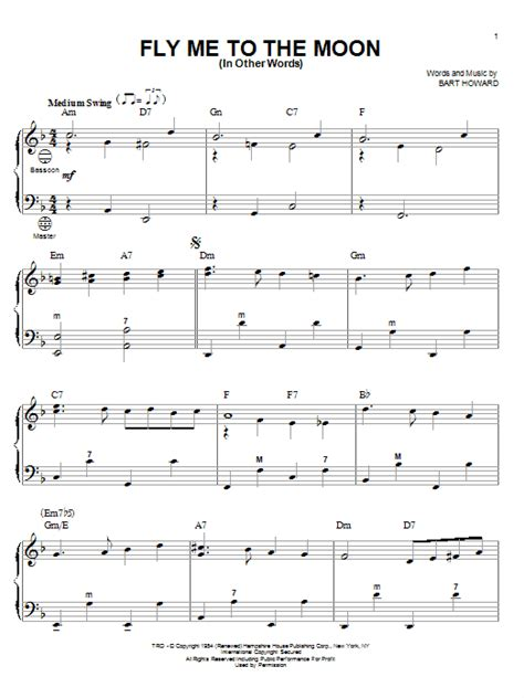 Fly Me With Your Song 2 jazz folk instrument search results sheet direct