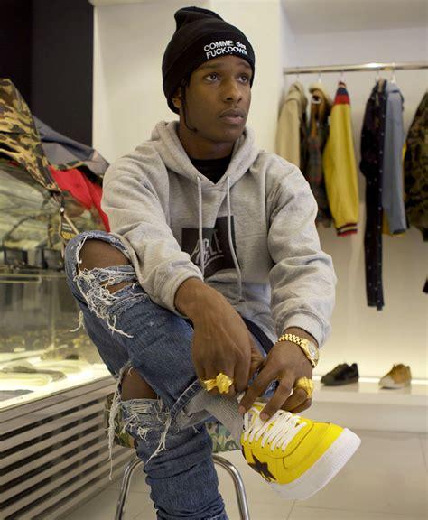 Asap Rocky Wardrobe by A Ap Rocky Style Icon Repeller