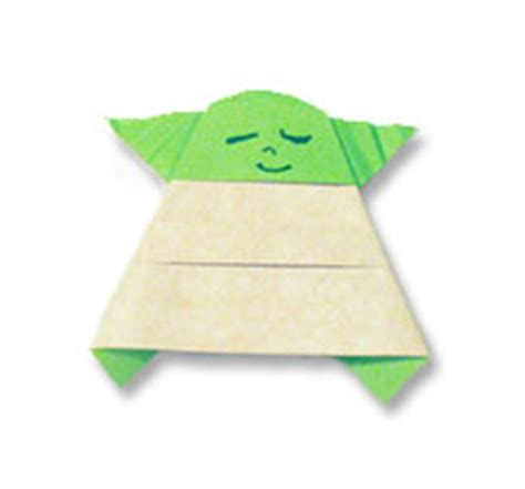 Easy Origami Yoda - the strange of origami yoda