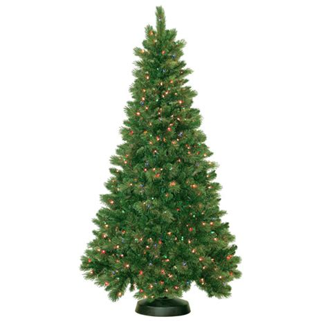 tree lights walmart pre lit 7 5 royal mixed artificial tree 600