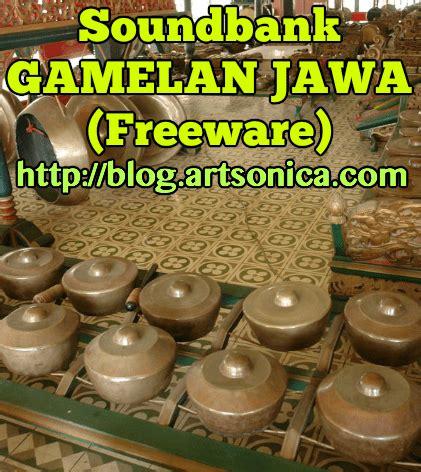 tutorial kendang jawa soundbank gamelan jawa freeware