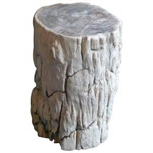 Stump Side Table Petrified Wood Stump Side Table For Sale At 1stdibs