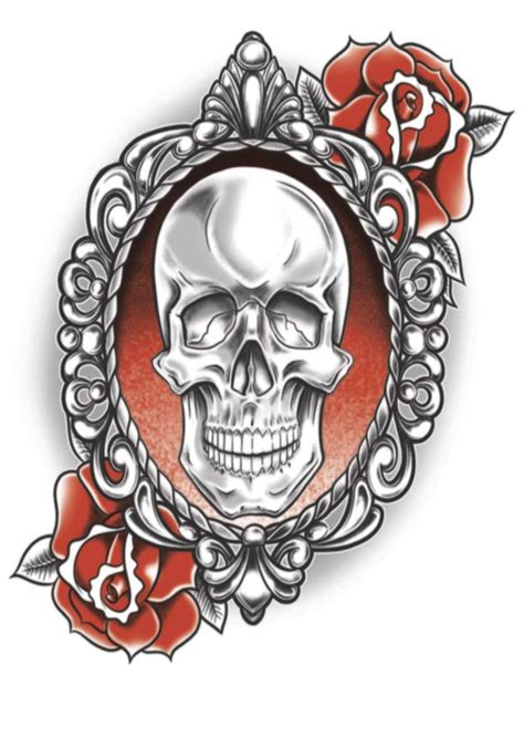 And Skull Temporary Flash Skull Temporary Pictures To Pin On