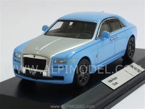 rolls royce light blue ixo models rolls royce ghost 2010 light blue silver 1