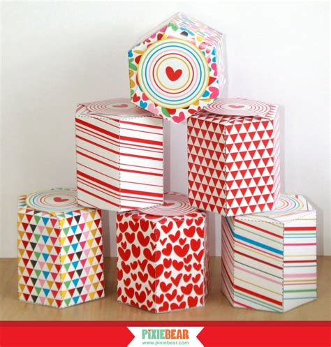 templates for party favor boxes favor box templates with free printable gift stickers