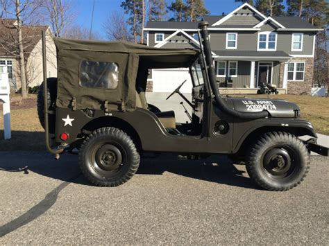 willys jeepster for sale 1953 jeep willys m38a1 for sale