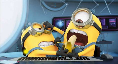 wallpaper minions banana minion banana wallpaper 1920x1080 www pixshark com