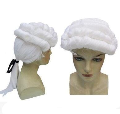 hair for attorneys white lawyer hair judge hair gentleman cosplay hair party