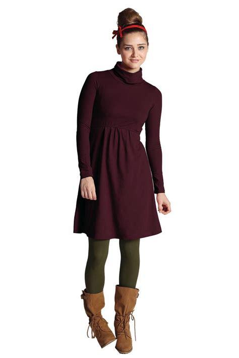 Nz 9100 Dress Turtle V jackie turtle neck organic sleeve nursing dress in