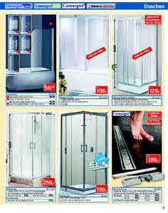 bauhaus duschen bauhaus katalog feinsteinzeug duschkabine seite no