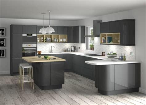 White And Gray Kitchen Cabinets ikea k 252 chen metod grau wotzc com