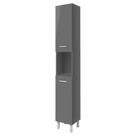 high gloss grey bathroom cabinets bathroom cabinet high gloss grey rona