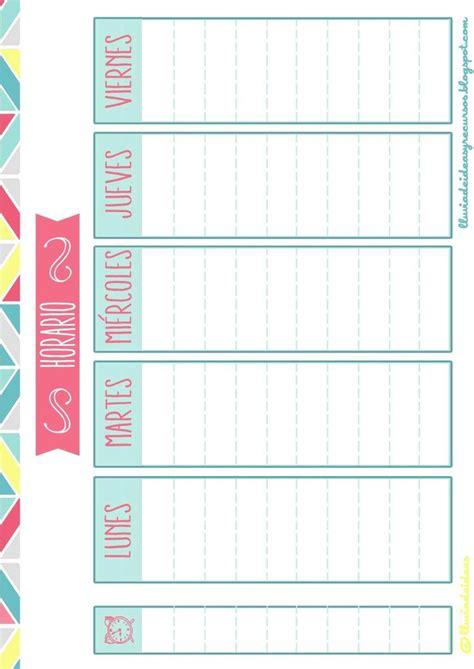 Calendario A Colegios Las 25 Mejores Ideas Sobre Horario Escolar En