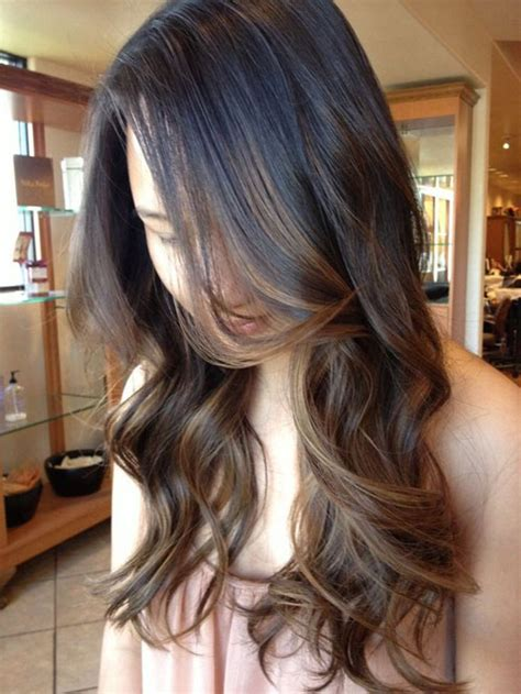 how to go from black to brown hair top balayage for dark hair black and dark brown hair
